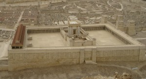 Temple of Herod, model, in Jerusalem