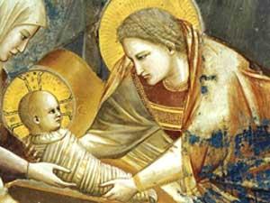 Nativity scene by Giotto di Bondone, Cappella Scrovegni a Padova