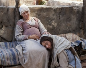 Mary visits Elisabeth. From the Bible Videos series. Courtesy The Church of Jesus Christ of Latter-day Saints