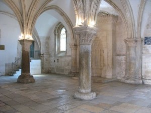 "The Cenacle (from the Latin cenaculum, for ""dinner), the traditional Catholic site of the  Last Supper"