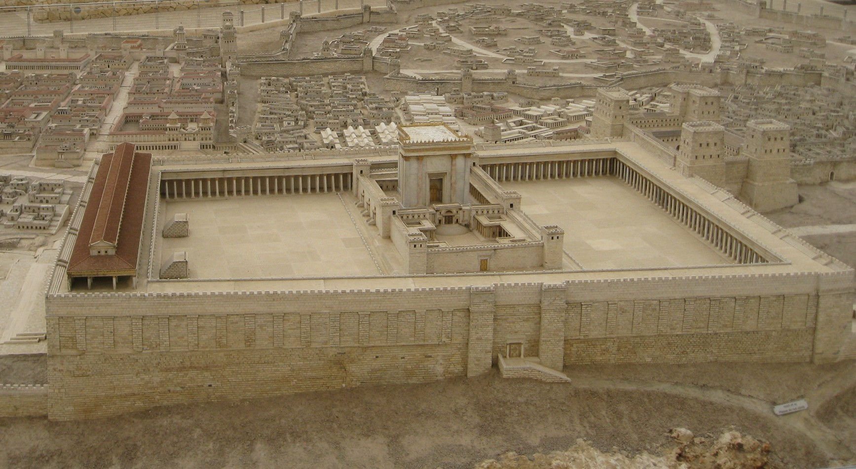 Herod's Temple [model] | BYU New Testament Commentary